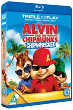 Alvin and the Chipmunks: Chipwrecked Blu-ray NEW