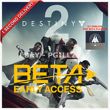 DESTINY 2 BETA_EARLY ACCESS CODE (PLAYSTATION 4, XBOX ONE AND PC) + D2 EMBLEM