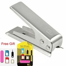 Nano Sim Card Cutter for iPhone 4 4S 5 6 7 iPad 3 & 3 x Adaptors