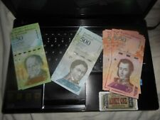 70 pieces VENEZUELA      Currency  50, 500