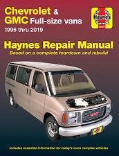 1996-2019 Chevrolet & Gmc Full Size Van Haynes Repair Service Shop Manual 3777