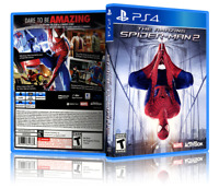 The Amazing Spider-Man 2 - Replacement PS4 Cover and Case. NO GAME!!