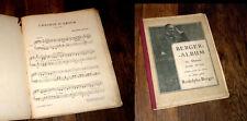 album Rodolphe Berger 20 danses pour piano choisies 1903
