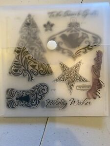 CTMH Close to My Heart Stamps - CC1015 Holiday Wishes
