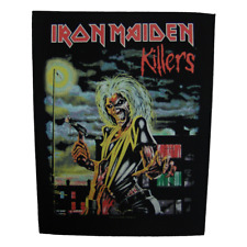 IRON MAIDEN official Backpatch KILLERS / ALBUM COVER Rückenaufnäher Heavy Metal