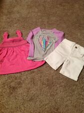 Lot Of 3 US Polo Assn The Childrens Place Baby Gap Sz 4T Tops/bottom