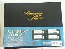 Whitman Currency Album Small Banknotes Collection 8 Pages 32 Notes D Ring Free