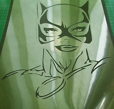 NEW M13 CATWOMAN JOKER BATMAN Airbrush Stencil Mask Paint Step Movie Comics
