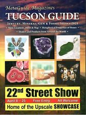 Jewelry, Mineral, Gem & Fossil Tucson Show Metaphysical Guide. New 2021