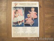 1966 Effanbee TWINKIE & MY FAIR BABY & LI'L DARLIN' Dolls  AD  (Reproduction)