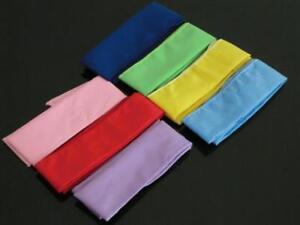 """4 x Neck Coolers Bandanas . Various colours.""""4.5cm x 100cm"""" ea.Scarves COLD COOL"""