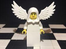 Lego White Feathered / Winged Angel Minifigure X1 / Castle / Kingdom