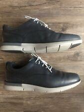 Men's Cole Haan Grand OS Navy Blue Leather Casual Dress Shoes Lunar Zero Sz 13