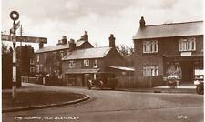 The Square Old Bletchley Post Office Nr Milton Keynes unused RP pc Valentines