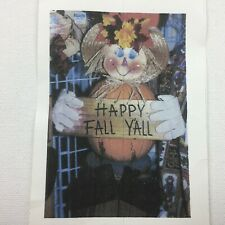 Vintage Scarecrow Pumpkin Kit Craft Add Pumpkin Fall Decoration Hand Painted