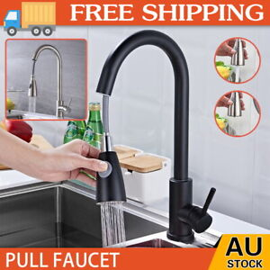 WELS New Brass Kitchen Pull Out Swivel Spout Mixer Tap Laundry Sink Basin Fauce