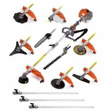 Multifunctional 52cc engine 12 in 1 Petrol Hedge Trimmer brush cutter tool