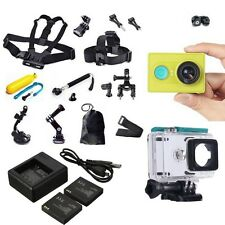 Brand XiaoMi Yi WIFI Sports Action Camera Video DVR+Accessories+Charger+Battery