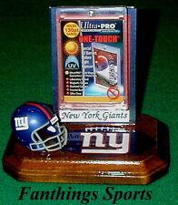 New York Giants NFL Sports Card Display Holder Helmet Logo Gift