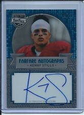 2013 PRESS PASS FANFARE  AUTOGRAPH KENNY STILLS 49/68