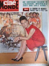 CINEMA JEANNE MOREAU HITCHCOCK SAMI FREY MAC QUEEN BELMONDO 1562 CINEMONDE 1964