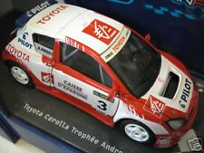 TOYOTA  COROLLA TROPHEE ANDROS 2006 A. PROST 1/43 SOLIDO 14501 voiture miniature