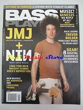 BASS PLAYER Magazine Ott 2008 Justin Meldal Johnsen Nine Inch Nails Bolder NO cd