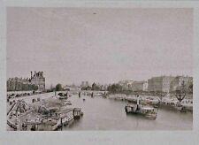 Paris - La Seine vue du Pont de la Concorde