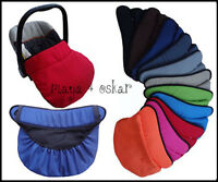 UNIVERSAL BABY INFANT CAR SEAT FOOTMUFF COSY TOES COVER WATERPROOF BLANKET