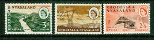 RHODESIA & NYASALAND  -1960- ELECTRICITY -VF**, VF*