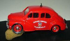 ELIGOR 1109, Renault 4 CV 1955 SECOURS POMPIER (La Rochelle), 1/43, défectueux & neuf dans sa boîte