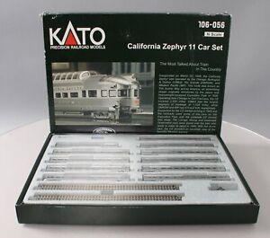 Kato 106-056 California Zephyr N Gauge Diesel Train Set NIB