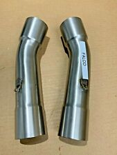Aprilia SL1000 Falco 1999-2005 UK Made T304 Stainless Steel Exhaust Link Pipes
