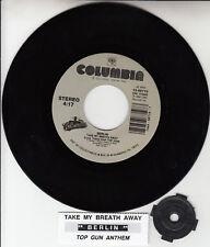 """BERLIN  Take My Breath Away TOP GUN 7"""" 45 rpm vinyl record NEW + jukebox strip"""