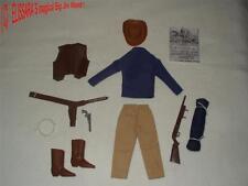 BIG JIM - Karl May  - Custom Outfit : COWBOY  ! Western  Winnetou  Shatterhand