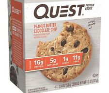 Quest Nutrition Protein Cookie - Peanut Butter Chocolate Chip - 2 Boxes Of 4