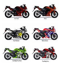 Kawasaki Ninja 250R Decal Sticker Graphic Kit 2009 - 2014 model
