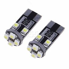 10x 12V 501 8-SMD LED XENON WEISS STANDLICHT CANBUS SAAB SEAT VOLVO Opel VW BMW