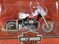 Maisto Harley Davidson 1962 FLH Duo Glide Motorcycle Diecast 1:18