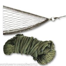 MILITARY MINI HAMMOCK CAMPING GARDEN BEACH HIKING TRAVEL BUSHCRAFT ARMY PORTABLE