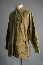 Vtg Orvis safari hunting Jacket Size M 100% Cotton Made in India