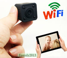 Portable wifi 4HS battery 120 Degree 940NM night Vision 720P HD IP spy HD camera