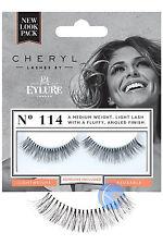 Eylure DE NIÑA en voz alta Cheryl 114 Pestañas Falsas Imitación Tira con