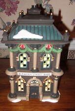 Dept 56 Heritage Village Collection Blenham Street Bank Dickens Village Mib