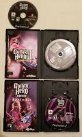 PS2 Guitar Hero 3 Legends of Rock Guitar Hero Guitar Hero Rocks the 80s Lot of 3