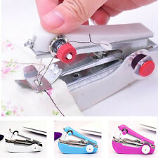 Portable Mini Handheld Sewing Machine Stitch Clothes Needlework Home Cordless