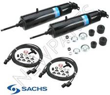 For Buick Cadillac Pontiac Pair Set Of 2 Rear Shock Absorbers Kit Hoses Sachs