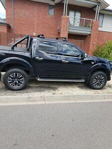 Nissan navara nsport wheels + tyres