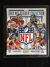Panini 2013 NFL Collection Complete Stickers Set Album