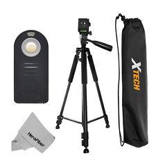 """Pro 60"""" Tripod with Wireless Remote for Nikon D3200, D3300, D5100, D5200 & D5300"""